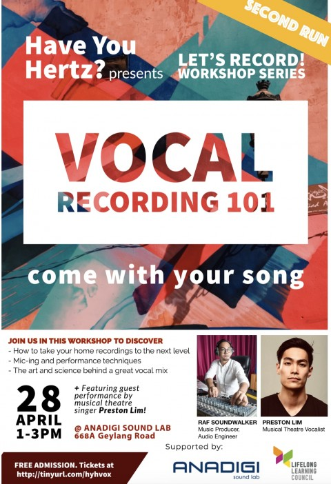Let's Record! Vocal Recording 101