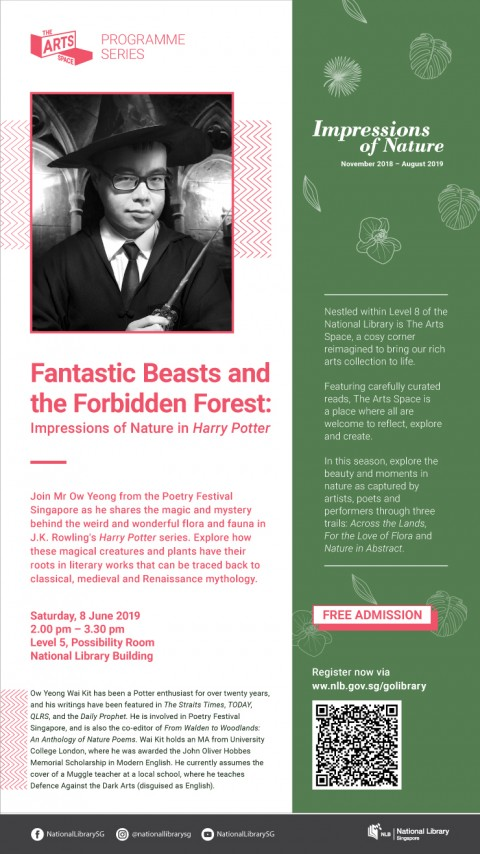 The Art Space Programme Series – Fantastic Beasts and the Forbidden Forest