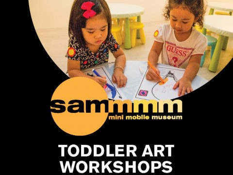 Toddler Art Workshops (18 months – 4 years old)