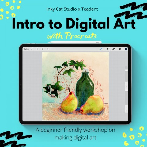 Introduction to Digital Art with Procreate by Inky Cat Studio