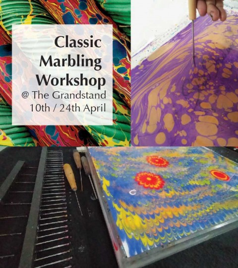 Classic Marbling Workshop