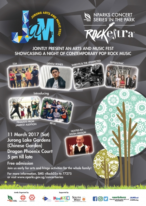 NParks Concert Series in the Park: Rockestra