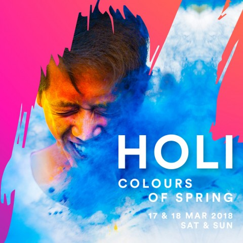 Holi – Colours of Spring 2018