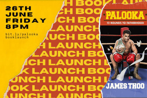Palooka Book Launch (Online)