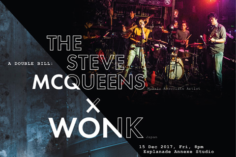 A Double Bill: The Steve McQueens x WONK (JP)