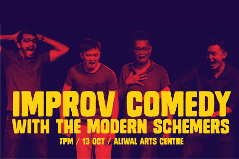 Improv Comedy with The Modern Schemers at Lit Up 2018