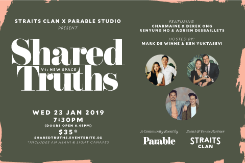 Shared Truths #1: New Space - A Creative & Entrepreneurial Community Event