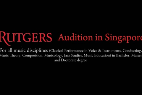 Rutgers Audition in Singapore