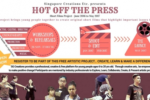 Open Call! Short Films Project for Young People