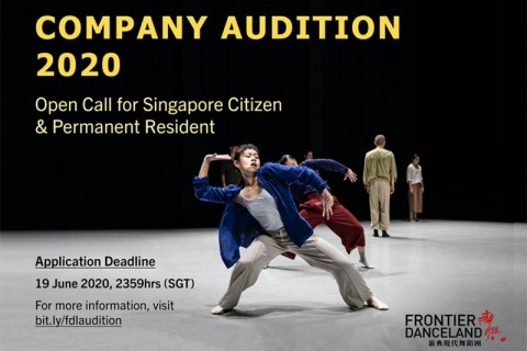 Frontier Danceland Company Audition 2020