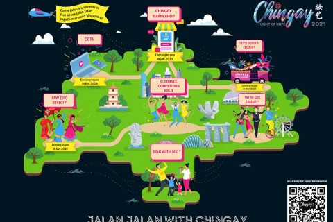 It's time to Jalan Jalan with Chingay!