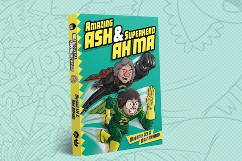 Amazing Ash & Superhero Ah Ma - Book Launch!