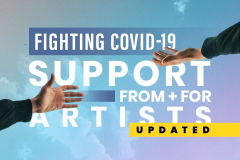 Fighting COVID-19: Support from + for Artists