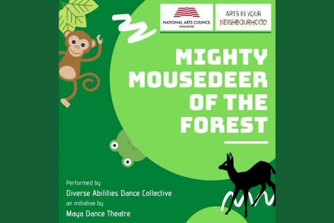 Mighty Mousedeer of the Forest