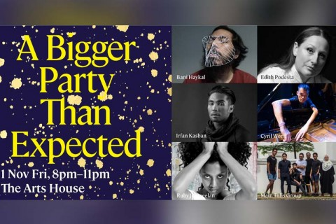 A Bigger Party Than Expected (Late-Night Programme) (Singapore Writers Festival 2019)