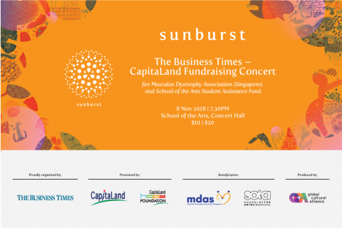 Sunburst: The Business Times - CapitaLand Fundraising Concert