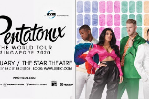 Pentatonix - The World Tour Singapore 2020