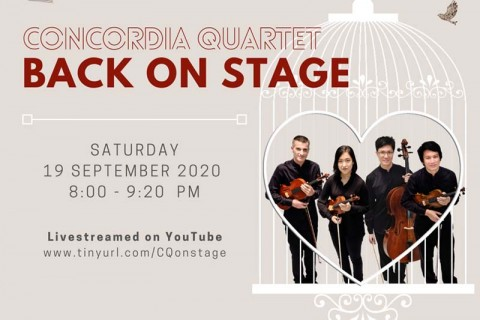 Concordia Quartet - Back on Stage