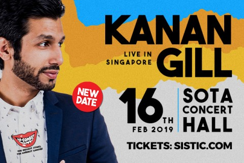 Hilarious Comedian from India - Kanan Gill // Live in Singapore 2019!