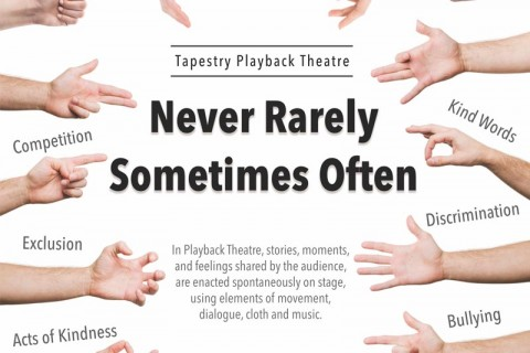 Never Rarely, Sometimes Often - a Playback Theatre performance.
