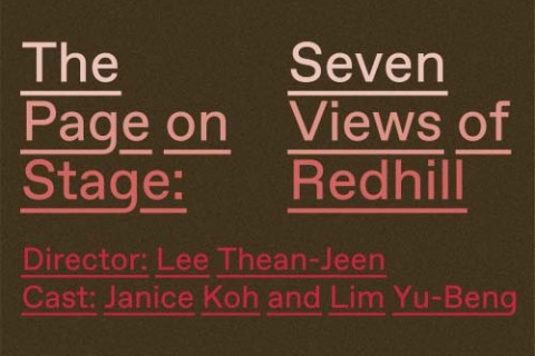 The Page on Stage: Seven Views of Redhill