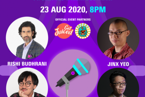 Laugh with Discover ft. Jinx Yeo and Rishi Budhrani