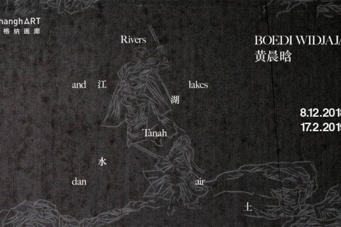 Boedi Widjaja: Rivers and lakes Tanah dan air - Live Art