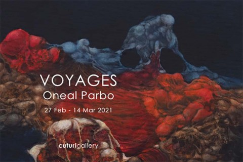 Oneal Parbo: Voyages Solo Exhibition