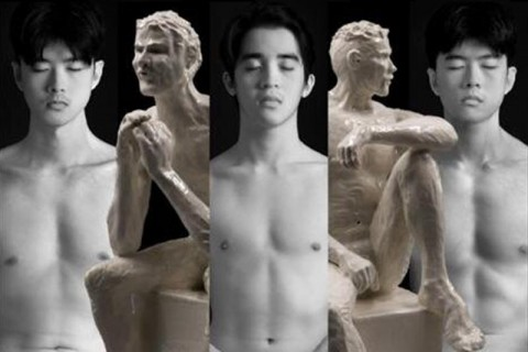 It's a Male Nude Show - A Two-Man Exhibition by Eiffel Chong and James Seet