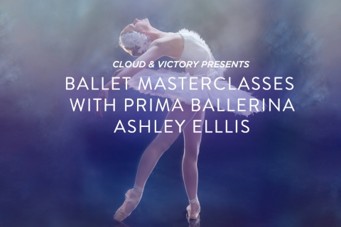 Ballet Masterclasses with Prima Ballerina Ashley Ellis (Boston Ballet, American Ballet Theatre)