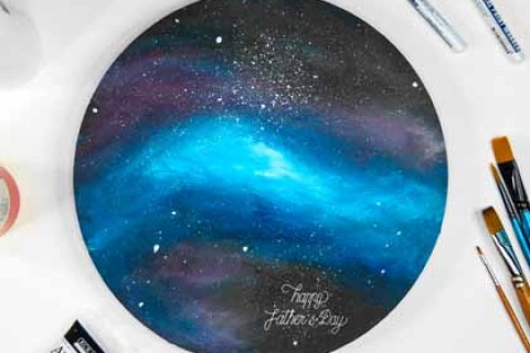 Galaxy Painting Workshop - Father's Day Edition