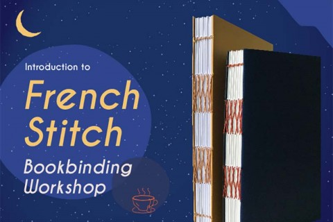 Introduction to French Stitch Bookbinding Workshop