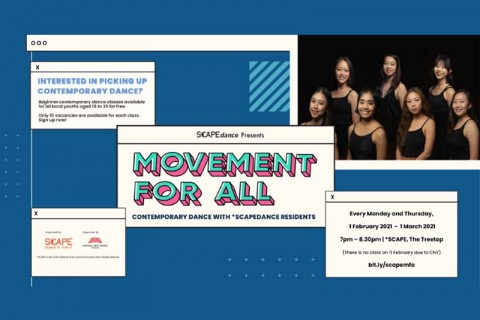 Movement For All: Contemporary Dance with *SCAPEdance Residents