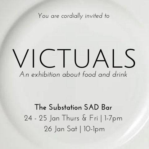 Victuals: An art exhibition about Food & Drink