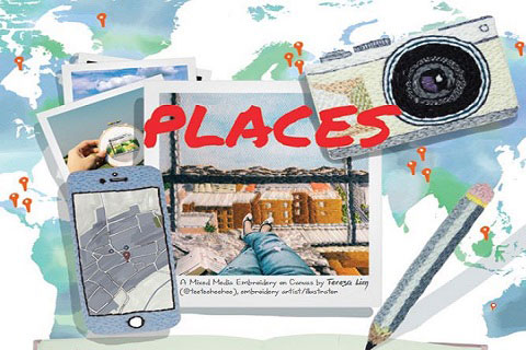 Open Call for P L A C E S: Travel Writing X Mixed Media Illustration Mentorship
