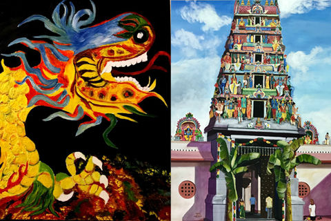 'Spaces of Sanctity: Sacred Monuments of Singapore in Fine Art'